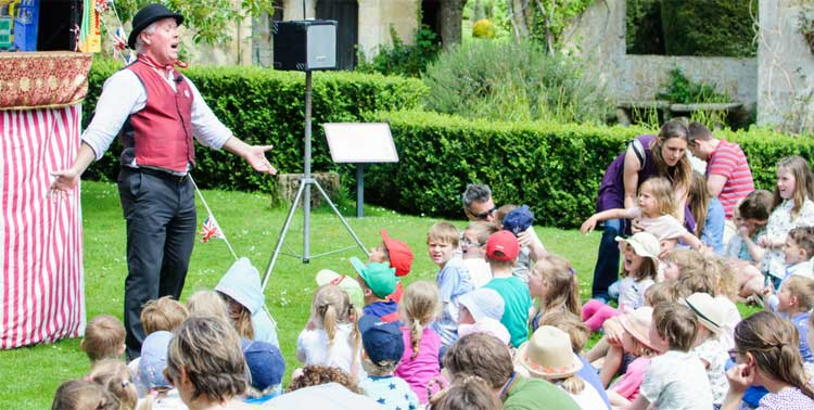 Family fun Wednesdays through the Summer holidays at Sudeley Castle