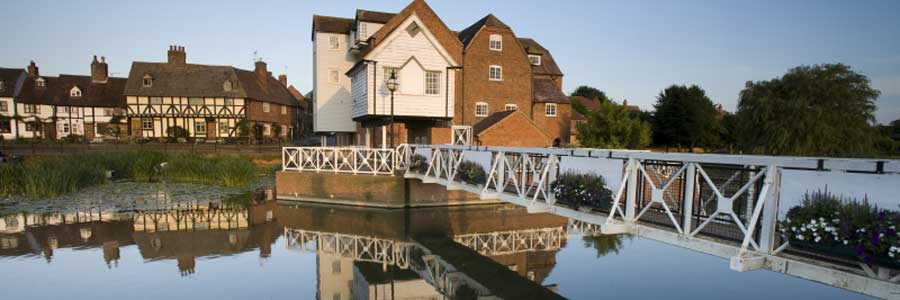 Abbey Mill on the River Avon at Tewkesbury