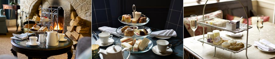 Afternoon teas for Mothering Sunday - photos courtesy of Cotswold Inns