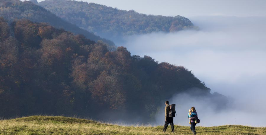 Enjoy an autumn walk in the Cotswolds