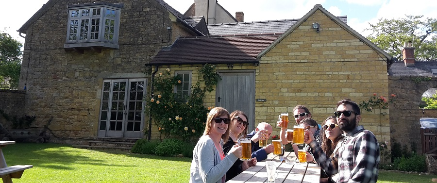 Go Cotswolds have a Purity Brewery and Pub Tour on the first Saturday of each month
