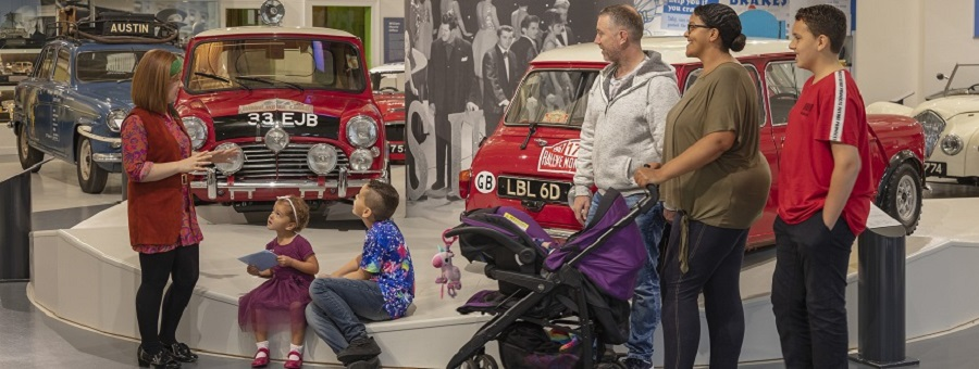 Family activities at the British Motor Museum this Easter
