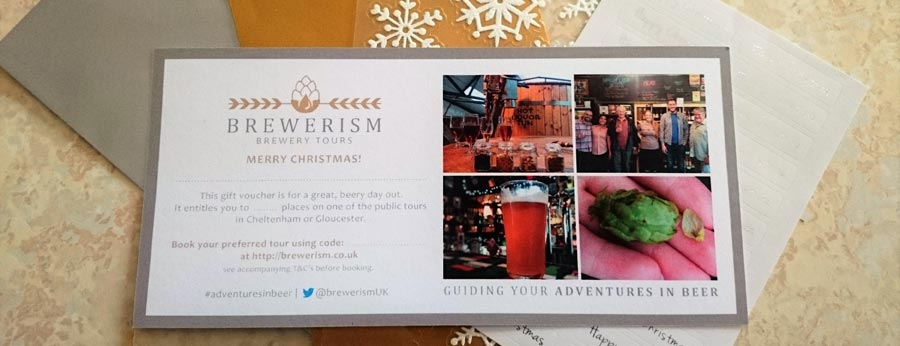Gift voucher for Brewerism