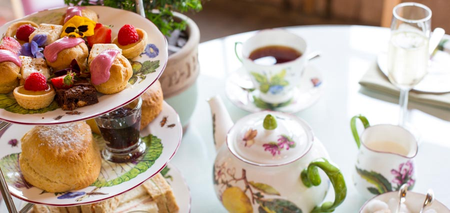 Champagne Tea Tours at Highgrove House
