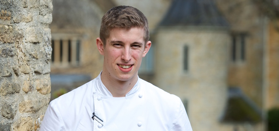 Charles Smith, Head Chef at Lords of the Manor