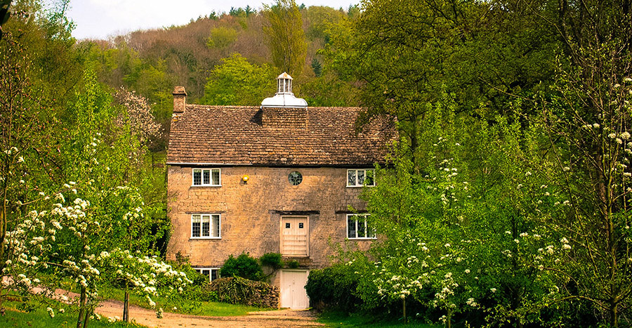 Grist Mill - one of the Owlpen Manor cottages