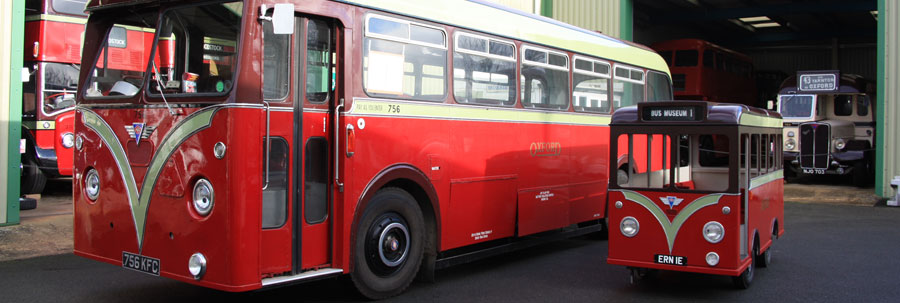 Real (and play) buses at Oxford Bus Museum