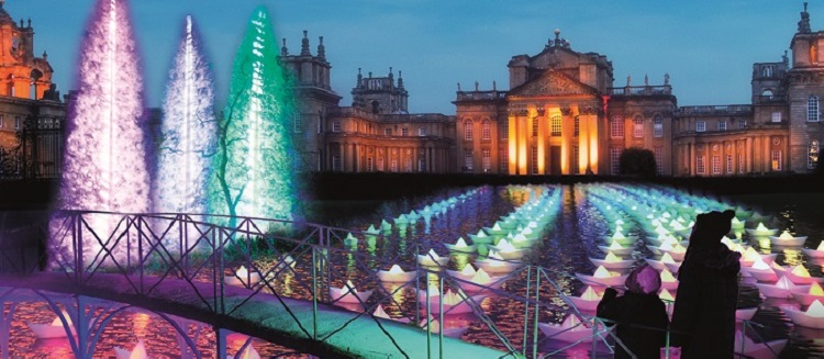 Undiscovered Cotswolds - a private tour and the festive lights at Blenheim Palace