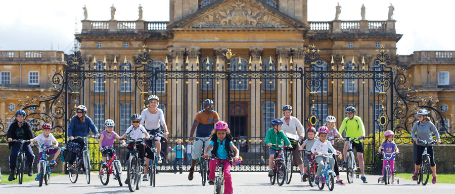 Family Cycling Day at Blenheim Palace on August 12th