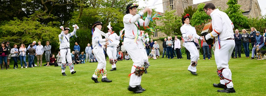 Bampton Day of Dance (photo James Wildman)