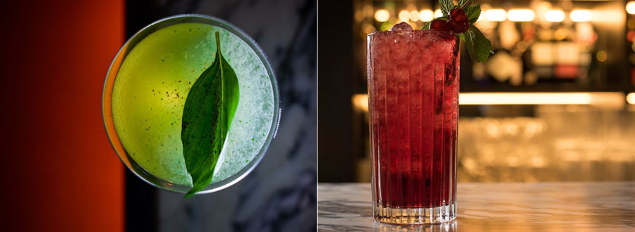 A 'Spring Cocktail Masterclass' - one of the events coming up at the Lygon Arms