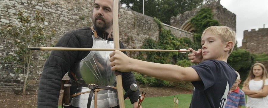 Have-a-go archery at Berkeley Castle