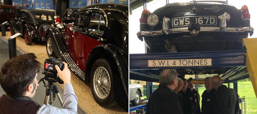 'Classic Virgins' Experience Day and other events at the British Motor Museum