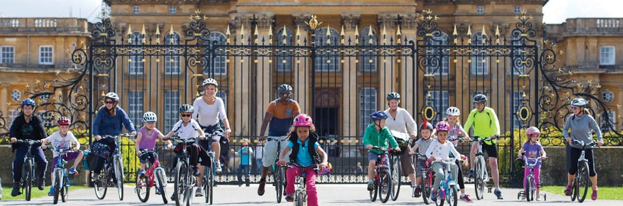 Family Cycling Day at Blenheim Palace
