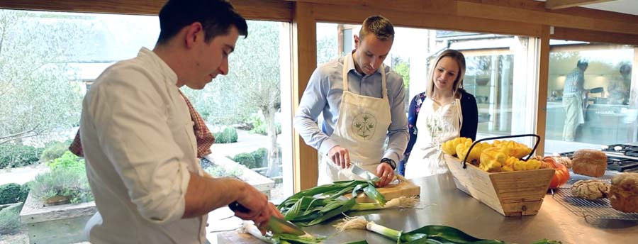 Treat somone to a class at The Cookery School at Thyme