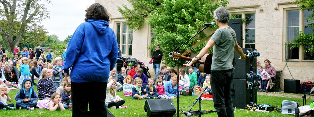Musical treats at Cogges Manor Farm