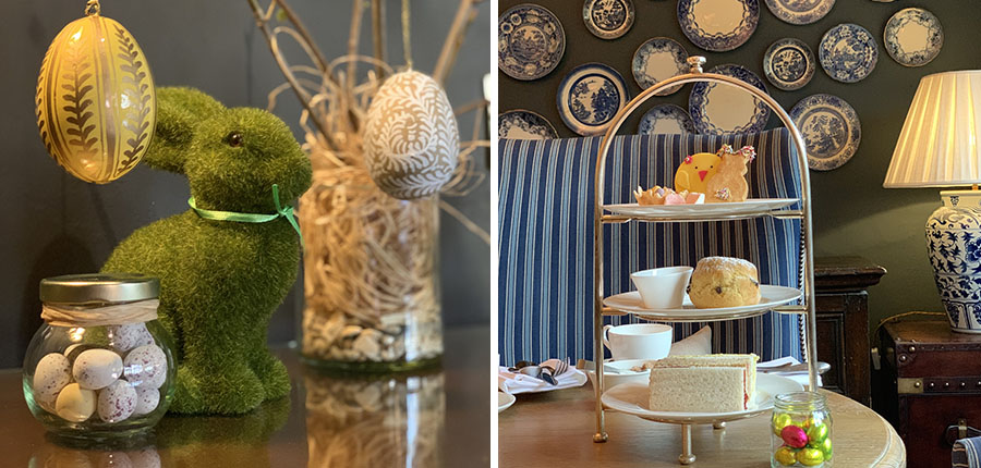 A special Children's Easter themed afternoon tea at the Lygon Arms