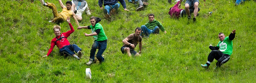 Cheese Rolling on Cooper's Hill