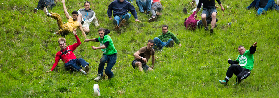 Cheese Rolling (photo by Nick Turner)