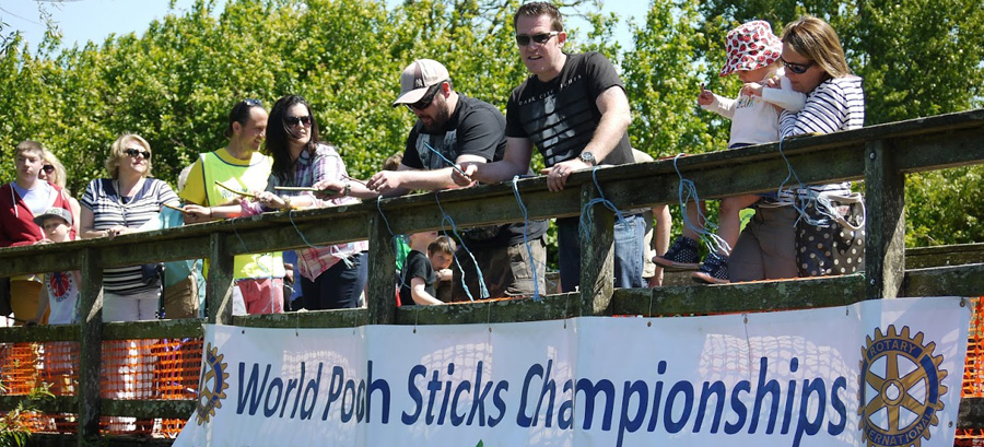 The World Poohsticks Championships