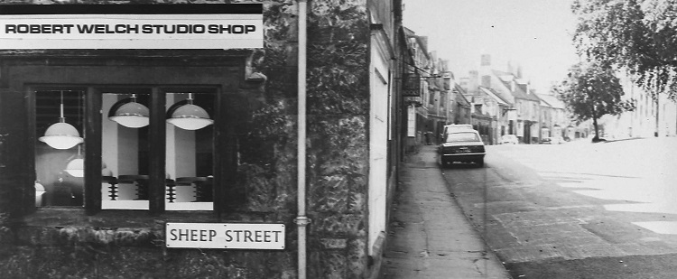 Robert Welch Studio Shop in Chipping Campden (photo c1968)