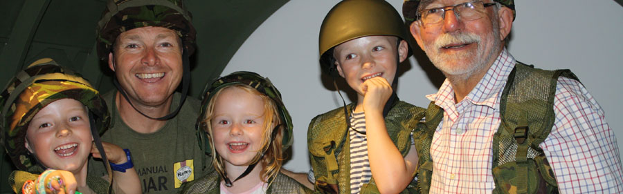 Father's Day at Soldiers of Oxfordshire Museum