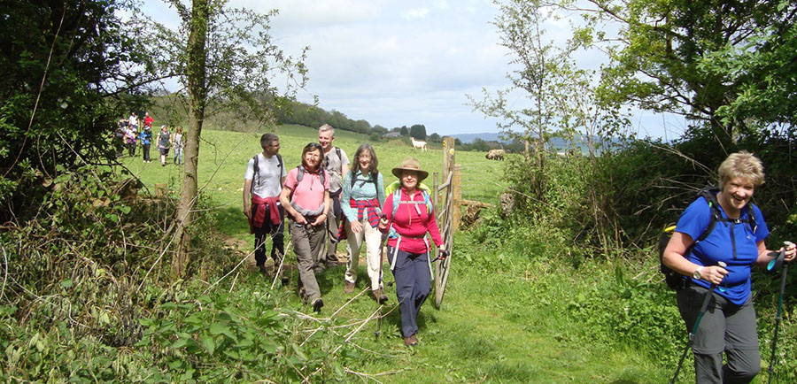 Winchcombe Welcomes Walkers