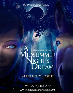 A Midsummers Night's Dream at Berkeley Castle