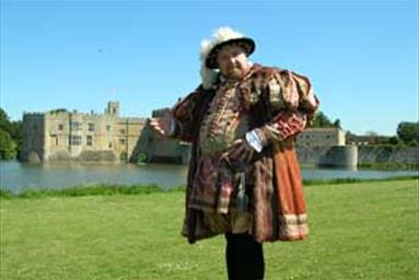 Costume drama at Sudeley Castle