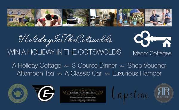 Your chance to win an amazing holiday in the Cotswolds