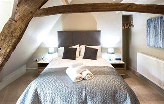 Bedroom in The Bell at Selsey