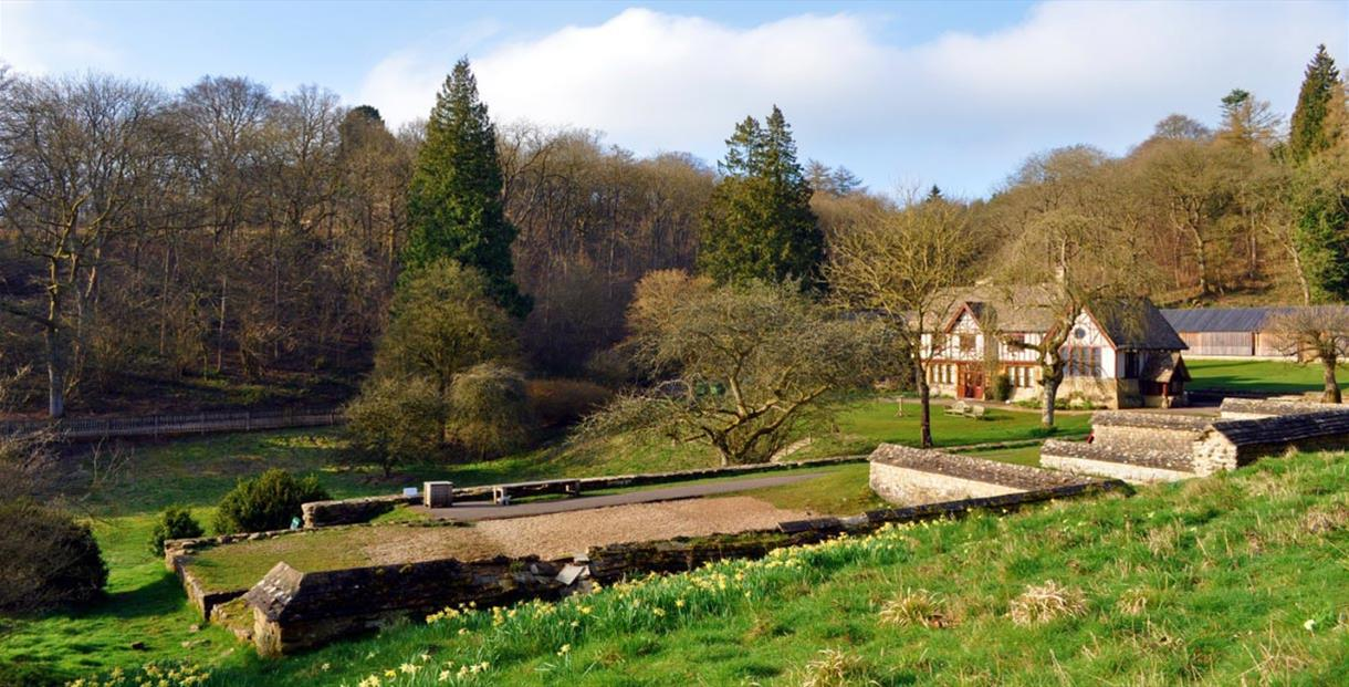 Chedworth Roman Villa (photo by Hazel Barry-Scott - courtesy of the National Trust)