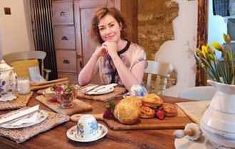 Baking Scones in a Cotswold Cottage