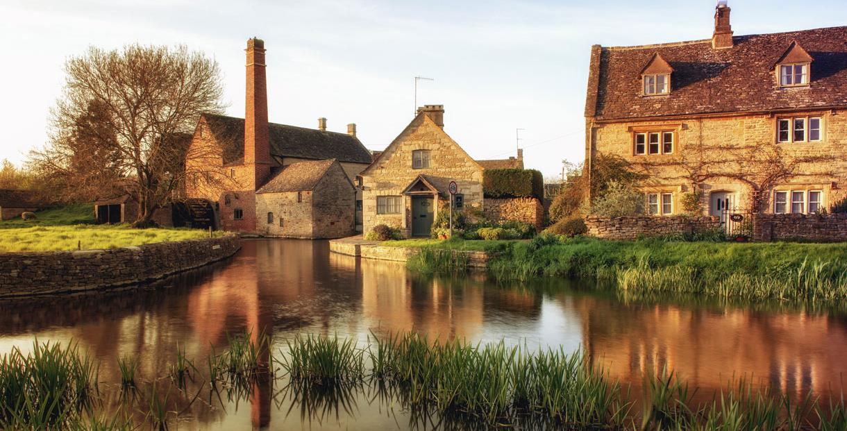 Image result for Upper and Lower Slaughter, Gloucestershire
