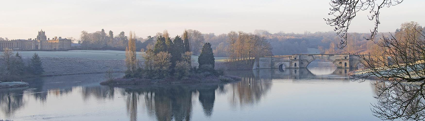 A frosty morning at Blenheim Palace