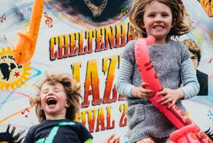 Cheltenham Jazz Festival - over 90 free events around town (Photo courtesy of mcphersonstevens.com)