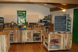 Enjoy a vegetarian cookery course at Abbey Farm