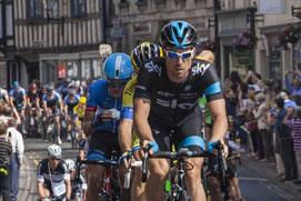 The Tour of Britain 2017 - racing through the Cotswolds on Saturday 9th September
