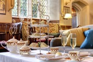 Treat yourself to afternoon tea in the Cotswolds