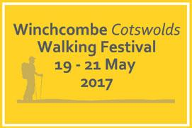Winchcombe Cotswolds Walking Festival - three days of guided walks in the wonderful countryside around Winchombe