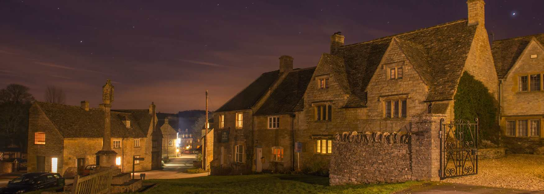 Another perfect night in the Cotswolds 