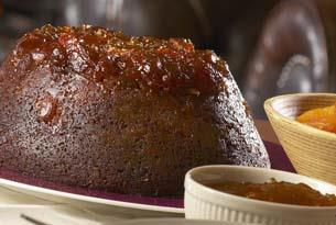 Try Lord Randalls Pudding at The Cotswold Pudding Club at Threeways House Hotel Mickleton