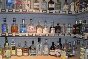 The Gin Pantry at The Cotswold Plough
