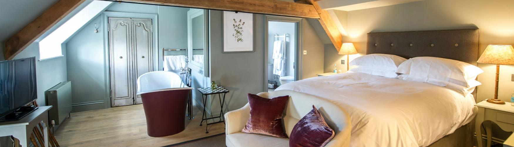 A bedroom suite at Thyme