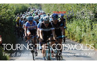 Opportunities to get your business involved when the Tour of Britain comes to the Cotswolds on Saturday 9 September