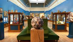 Victoria Art Gallery - part of the permanent collection