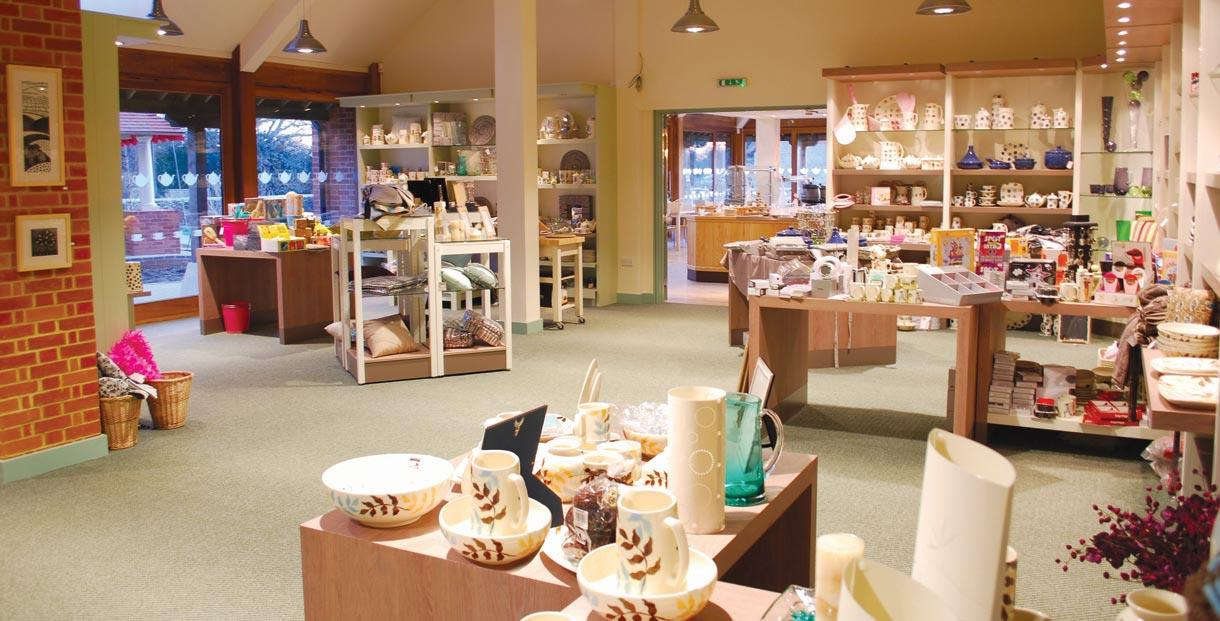 The shop at Aston Pottery