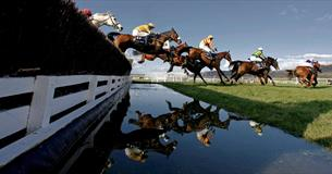 Racing at Cheltenham on News Year's Day