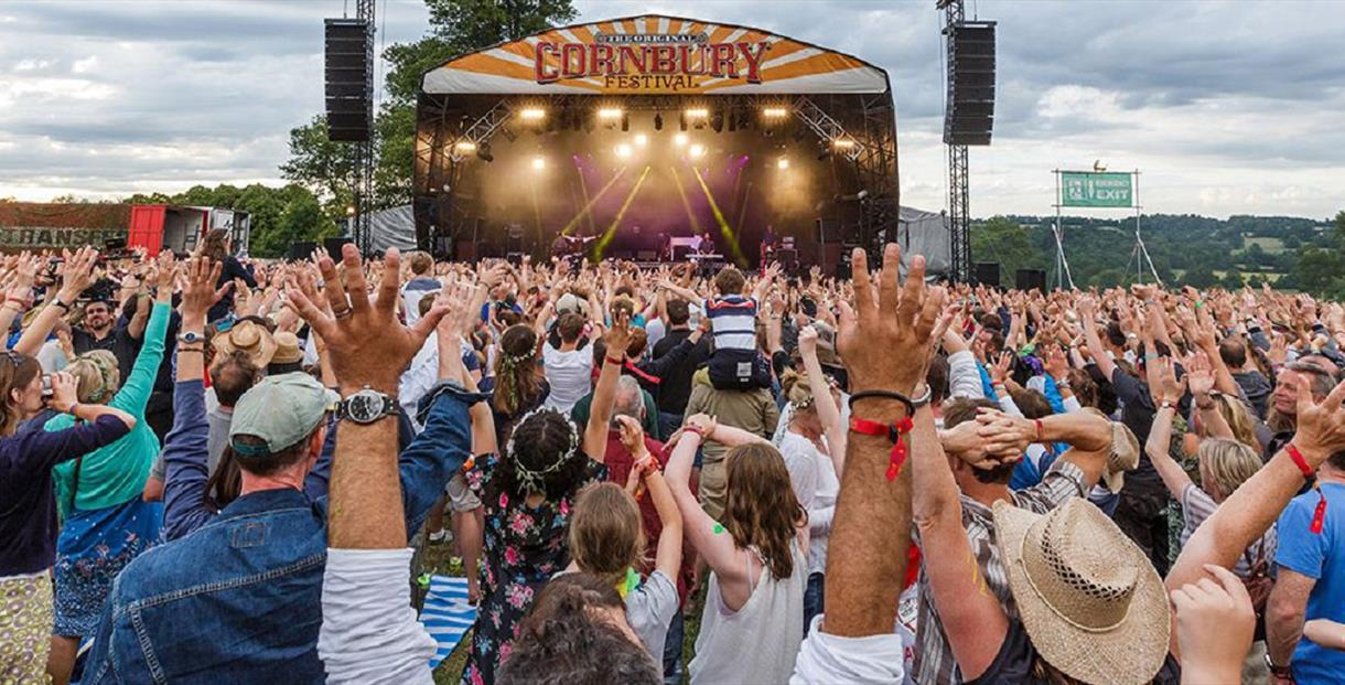 Cornbury Music Festival 13 - 15 July 2018 at Great Tew
