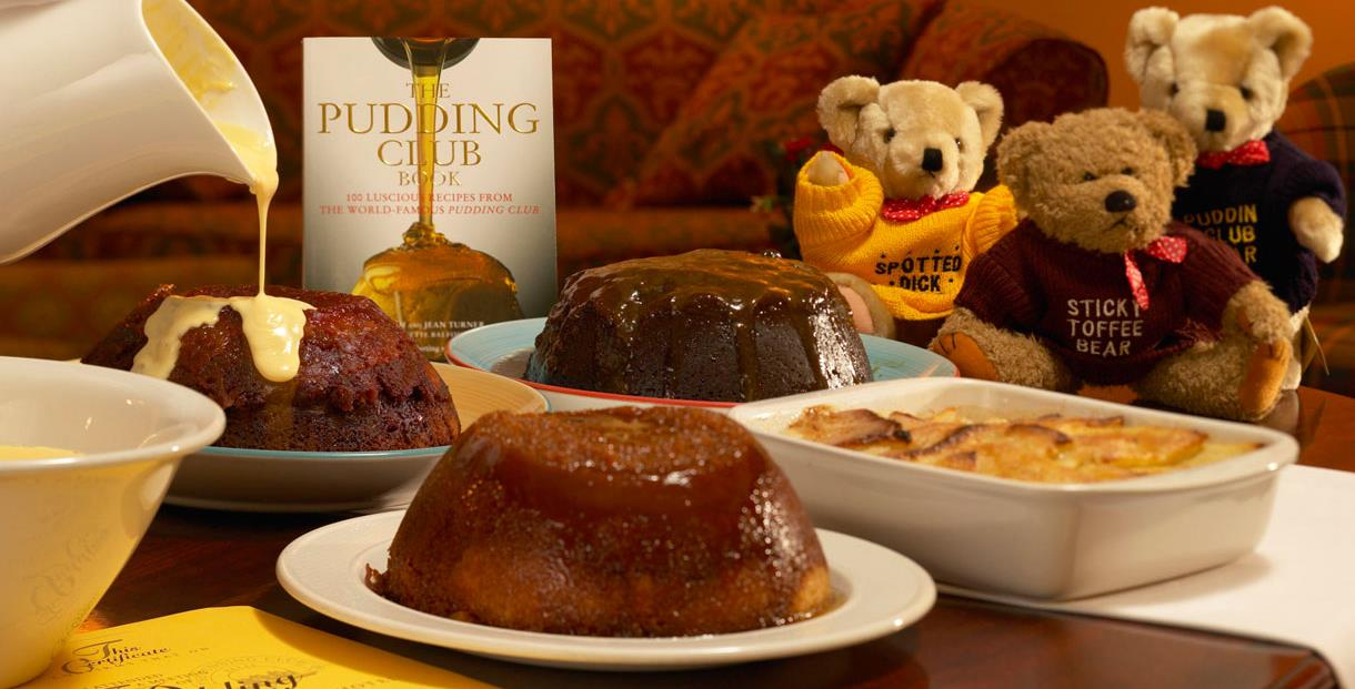 The Pudding Club at the Three Ways House